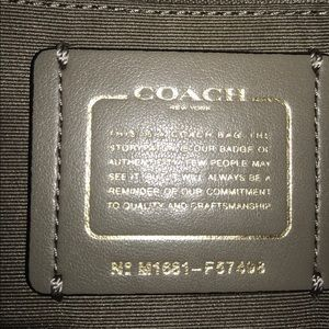 Coach Bags - Coach Leather Mini Bennett Satchel